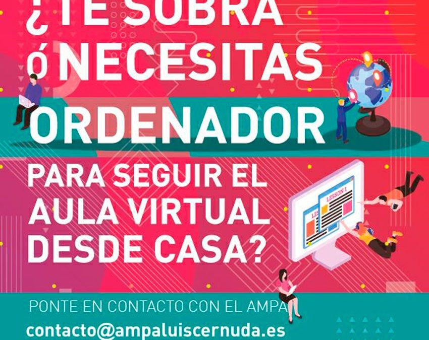 Ordenadores para el Aula Virtual