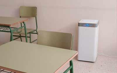 Información sobre los filtros en las aulas